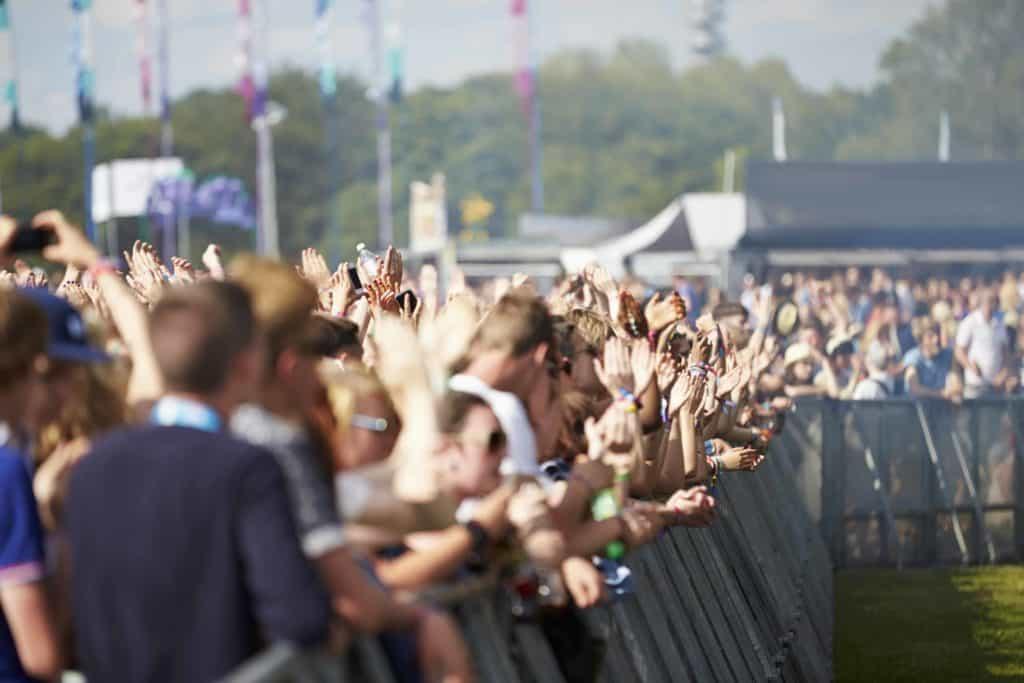 Festival beveiliging